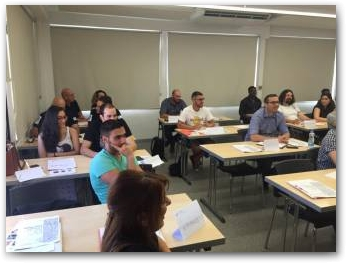 SCIENT Training Pilot Programme in Cyprus 6/06/2016 - 8/06/2016  » Click to zoom ->