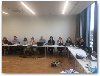 5th coordination meeting of SCIENT, Regensburg, Germany 24th  - 25th of November 2016  » Click to zoom ->